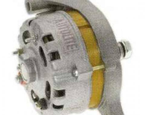 66/93 Chrome Alternator Externally Regulated, 60 Amp