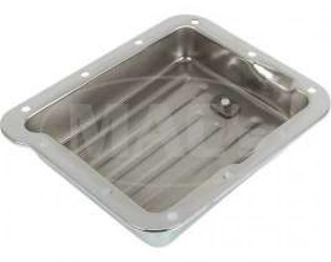 C-4 Transmission Pan Stamped Steel, Chrome