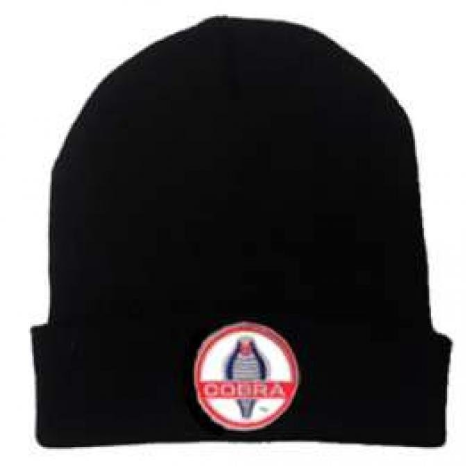 Ford Shelby Cobra Knit Cap, Black