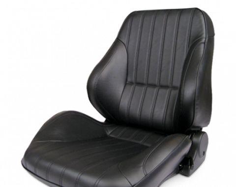 Procar Lowback Rally Seat, Left, Vinyl