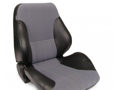 Procar Lowback Rally Seat, Right, Velour