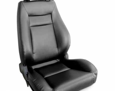 Procar Elite Seat, Right, Vinyl