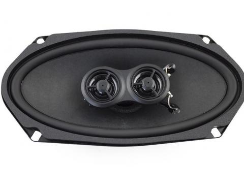 RetroSound Stereo Replacement Speakers for 1965-68 Ford Mustang with Deluxe Factory Stereo System