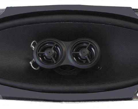 RetroSound Premium Ultra-thin Dash Replacement Speaker for 1967-68 Ford Mustang