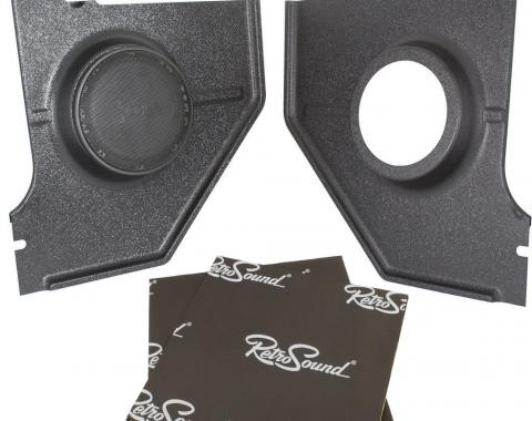 RetroSound Kick Panels for 1967-68 Ford Mustang