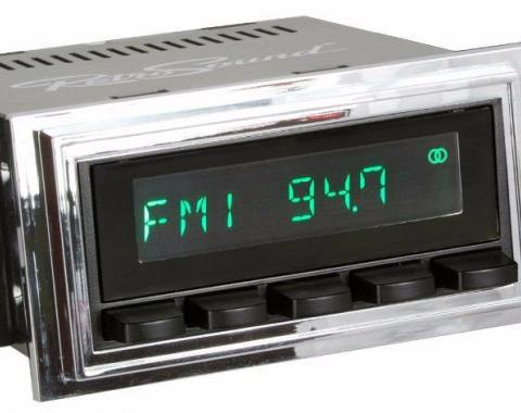 RetroSound 1967-68 Ford Mustang Hermosa Radio