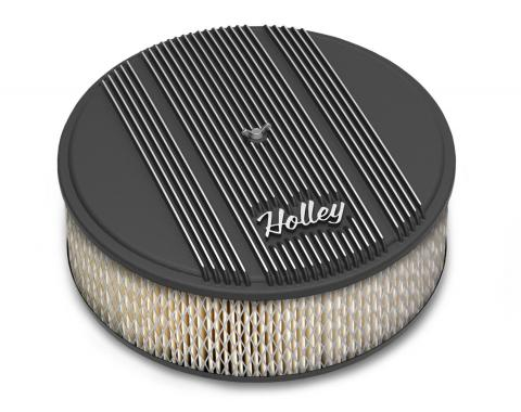 Holley Round Finned Air Cleaner 120-156