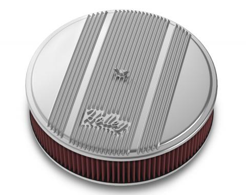 Holley Round Finned Air Cleaner 120-151
