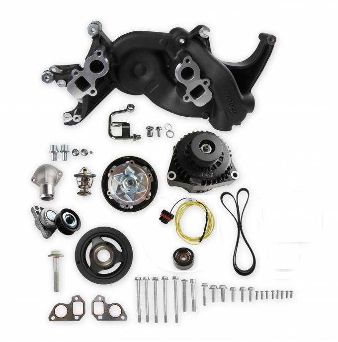 Holley Mid-Mount Complete Race Accessory System 20-187BK