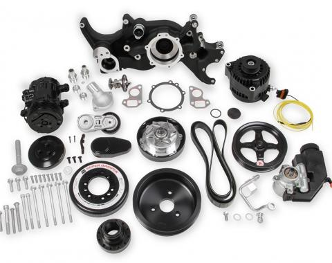 Holley Accessory Drive System Kit 20-180BK