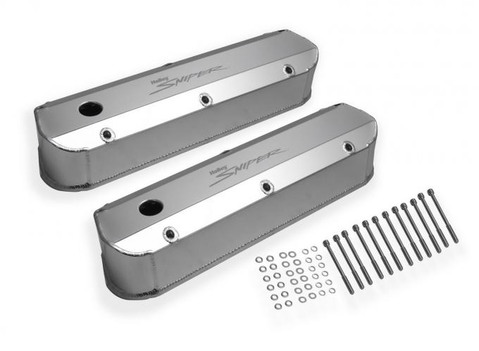 Holley Aluminum Valve Cover Set 890012