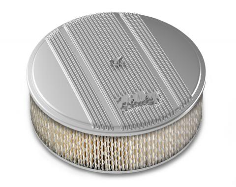 Holley Round Finned Air Cleaner 120-154