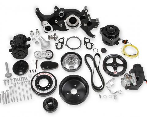 Holley Mid-Mount LT Accessory Drive System Kit 20-200BK