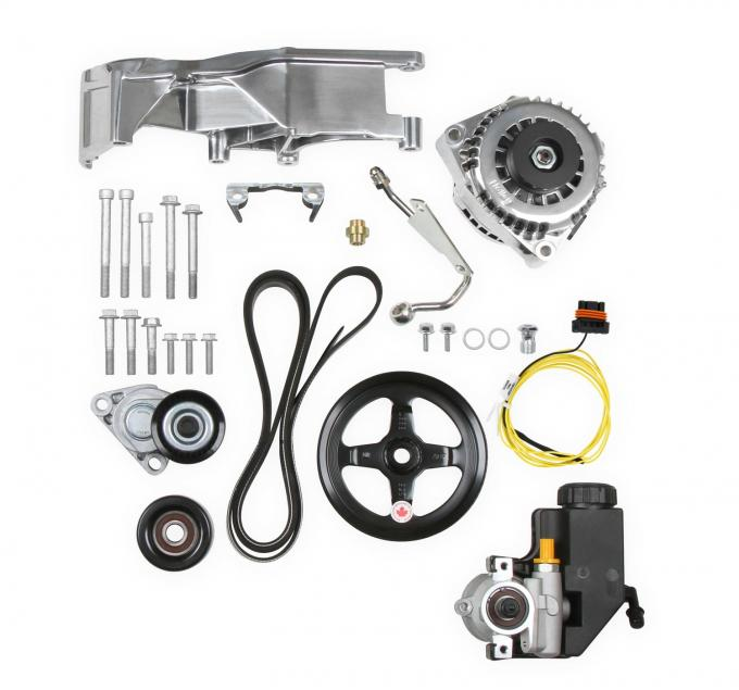 Holley Low LS Accessory Drive System Kit 20-156P