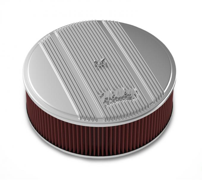 Holley Round Finned Air Cleaner 120-155