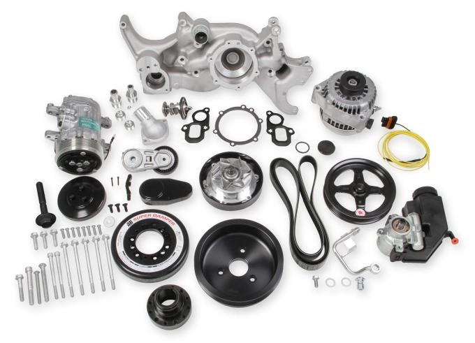 Holley Mid-Mount LT Accessory Drive System Kit 20-200