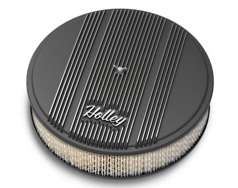 Holley Round Finned Air Cleaner 120-152
