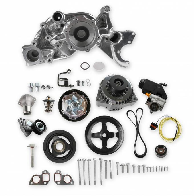 Holley Mid-Mount Complete Race Accessory System 20-186P