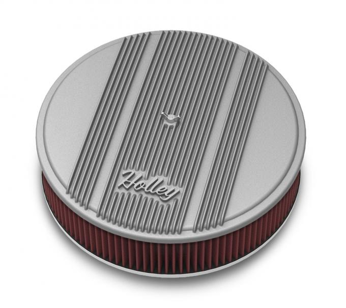 Holley Round Finned Air Cleaner 120-160