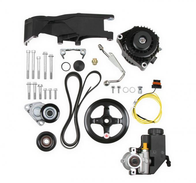 Holley Low LS Accessory Drive System Kit 20-156BK