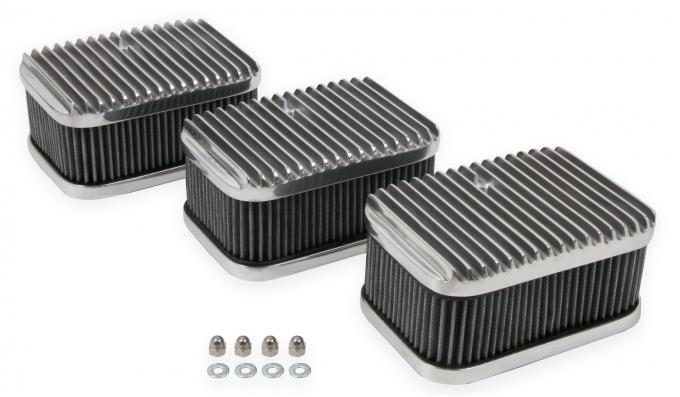 Holley 3x2 Air Cleaners/Filters 120-105