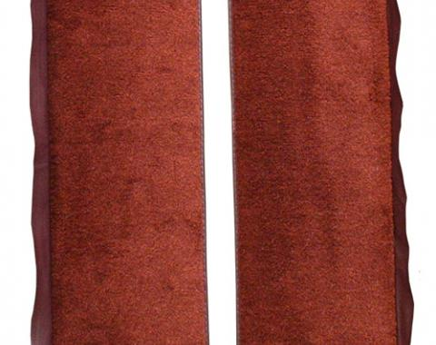 ACC  Ford Mustang Convertible Inserts Door Panel 2pc Cutpile Carpet, 1983-1986