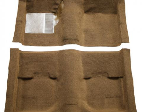ACC  Ford Mustang Fastback without Folddowns Pass Area Nylon Carpet, 1969-1970
