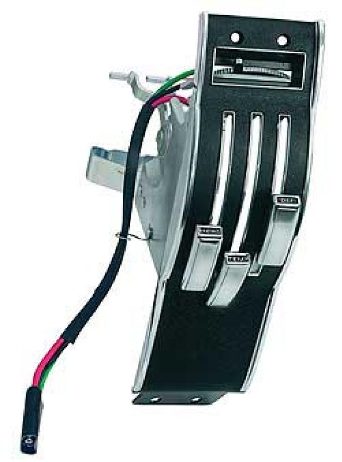 OER 1968 Mustang Heater Control Dash Plate Assembly 18A651B