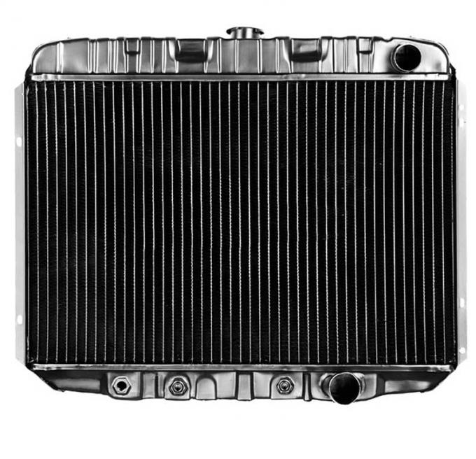 OER 1968-69 Mustang V8/289-351 With Auto Trans 4 Row Copper/Brass Radiator CRD5121A