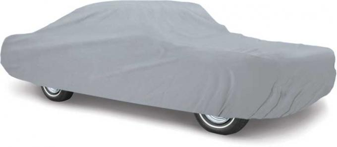 OER 1987-93 Mustang Hatchback Soft Shield Gray Car Cover - For Indoor Use MT8910FGR