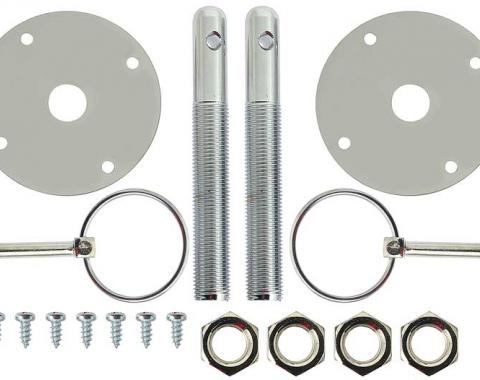 "OER Deluxe Hood Pin Set with ""Flip-Over"" Design 16700H"