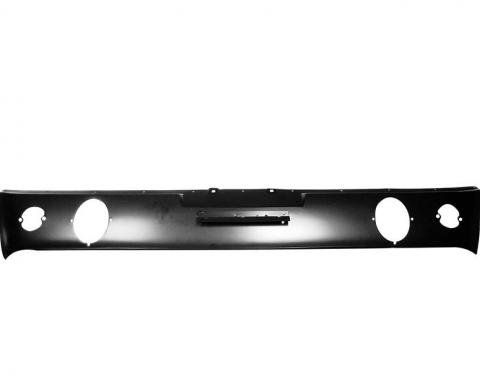 OER 1965-66 Mustang Rear Lower Valance Panel with GT / Dual Exhaust /Backup Lamp Holes 40544R
