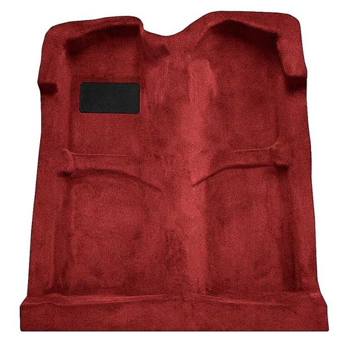 OER 1994-04 Mustang Coupe/Convertible Passenger Area Cut Pile Carpet with Mass Backing-Dark Red Carmine A4027B93