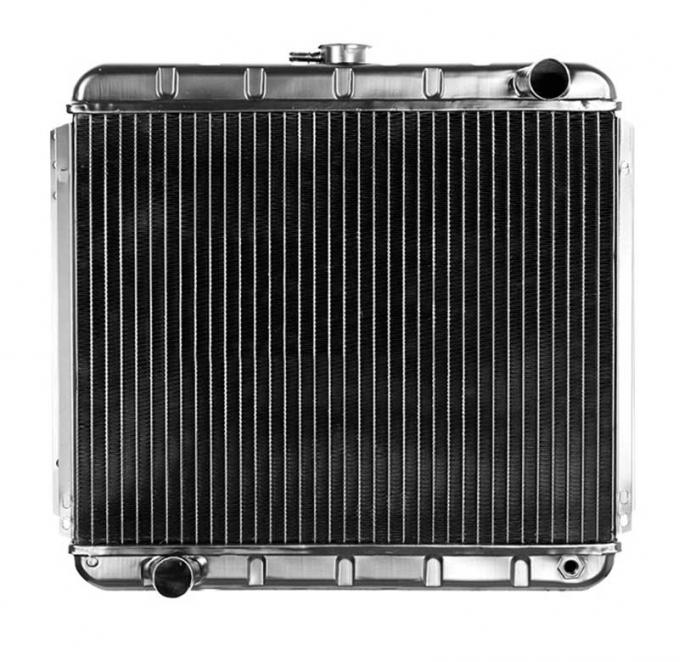 OER 1968-70 Mustang L6-250/V8-302 With Manual Trans 4 Row Copper/Brass Radiator CRD5106S