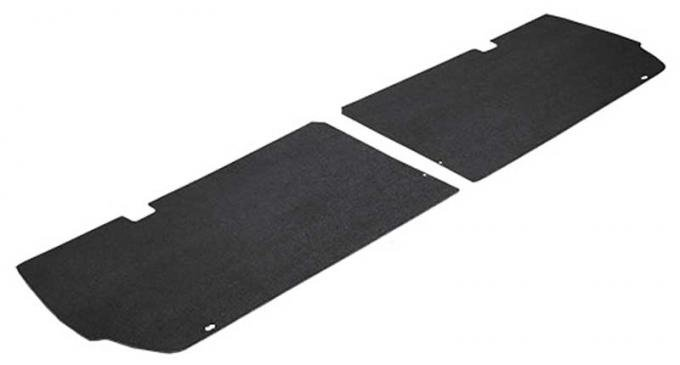 OER 1969-70 Fastback Shelby Tail Light Cover Boards - Pair A4122A00