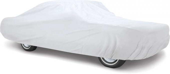 OER 1994-98 Mustang Coupe Titanium Plus Car Cover - Gray - For Indoor or Outdoor Use Fleece Car Cover MT8911H