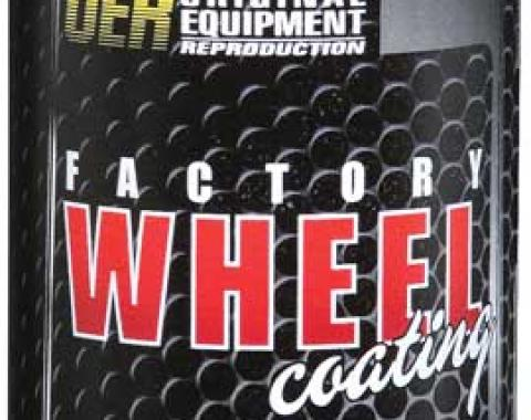 "OER 1960-80 Low Luster Gray ""Factory Wheel Coating"" Wheel Paint 16 Oz Can K89410"