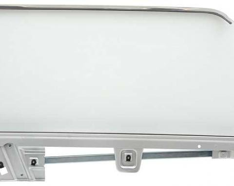 OER 1967-68 Mustang Coupe Door Glass Assembly Clear - RH (Passenger Side) 21410DRCK