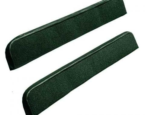 OER 1971-73 Mustang Door Panel Carpet Inserts - Green A4097A39