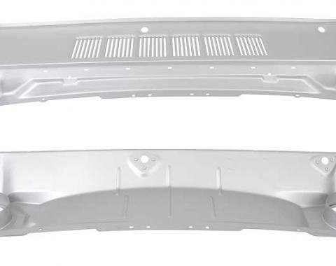 OER 1964-66 Mustang Cowl Grill Panel Assembly (Early 1965 Style) 02011A