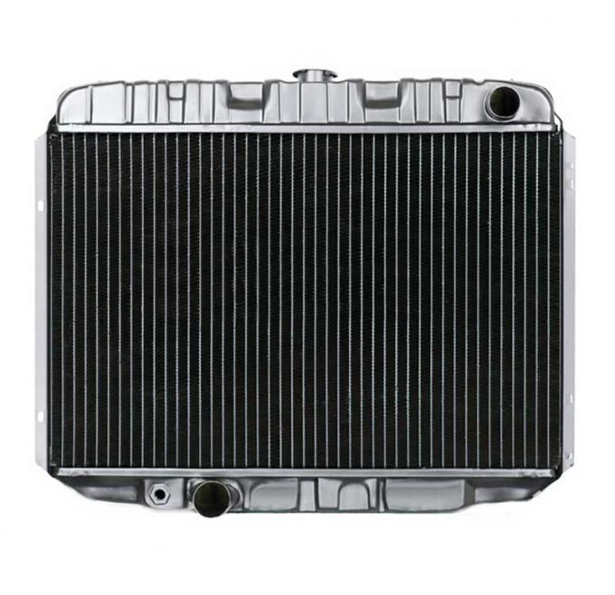 OER 1968-70 Mustang V8/302-351 With Manual Trans 4 Row Copper/Brass Radiator CRD5123S