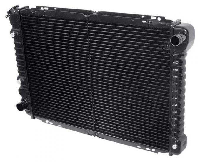 OER 1985-93 Mustang All Models With Auto Trans 3 Row Copper/Brass Radiator CRD5137A