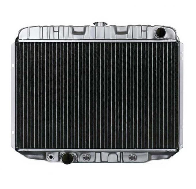 OER 1968-70 Mustang V8/302-351 With Auto Trans 4 Row Copper/Brass Radiator CRD5123A