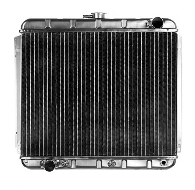 OER 1968-70 Mustang L6-250/V8-302 With Auto Trans 4 Row Copper/Brass Radiator CRD5106A