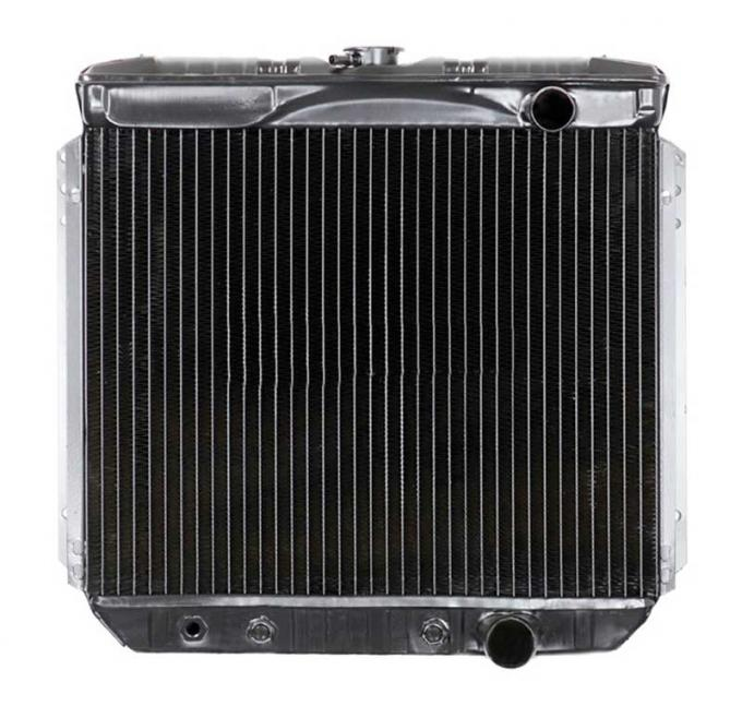 OER 1967-69 Mustang V8/260-351 With Auto Trans 3 Row Copper/Brass Radiator CRD5116A