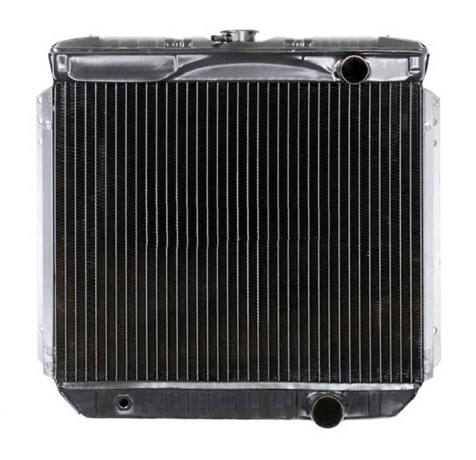 OER 1967-69 Mustang V8/260-351 With Manual Trans 4 Row Copper/Brass Radiator CRD5117S