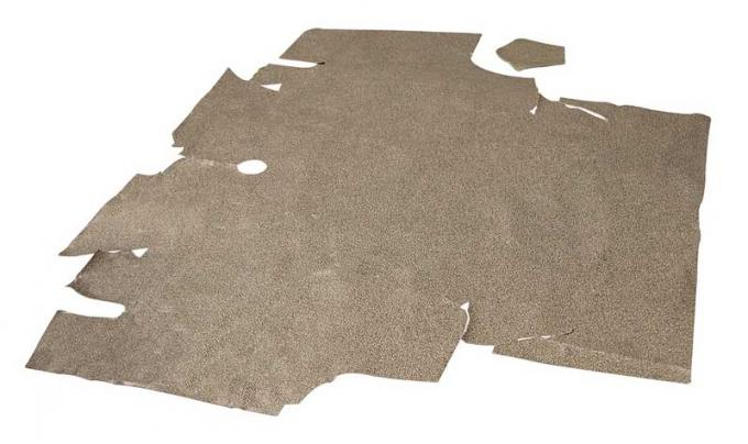 OER 1969-70 2+2 Mustang Trunk Mat - Speckle Fastback TM41
