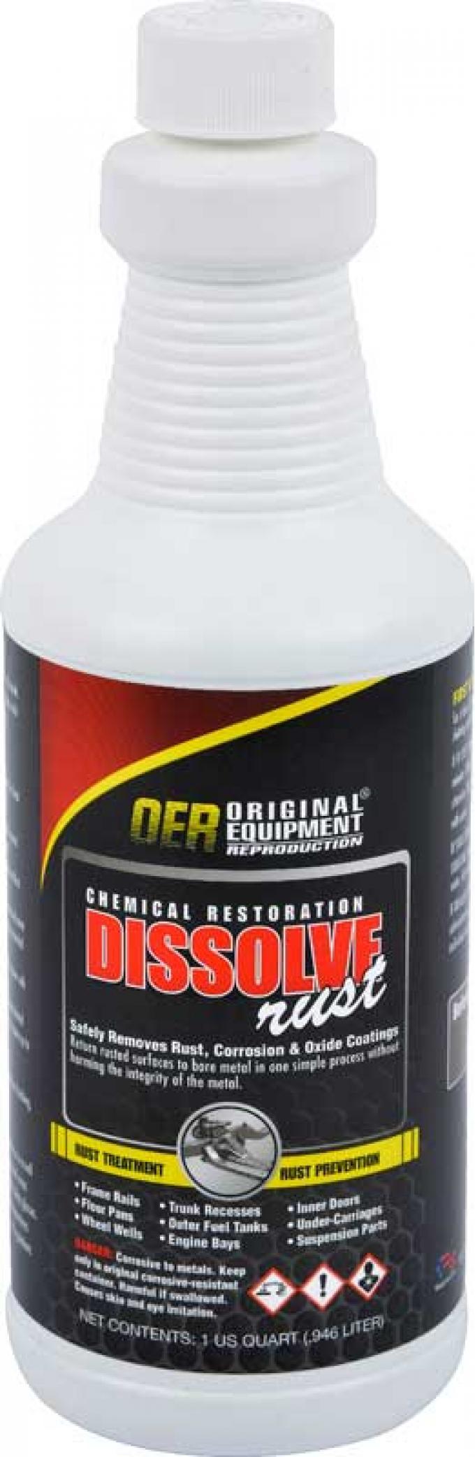 OER Rust Dissolver 1 Quart Bottle K86110