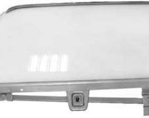 OER 1964-66 Mustang Door Glass Assembly Fastback Clear - RH 21410BRCK