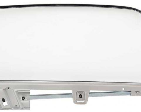 OER 1967-68 Mustang Door Glass Assembly Convertible Clear - RH 21410FRCK